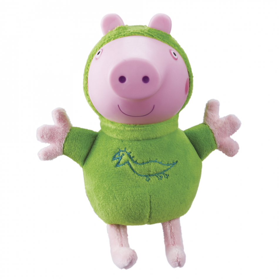 Peluche George Pig con luz Peppa Glow Friends