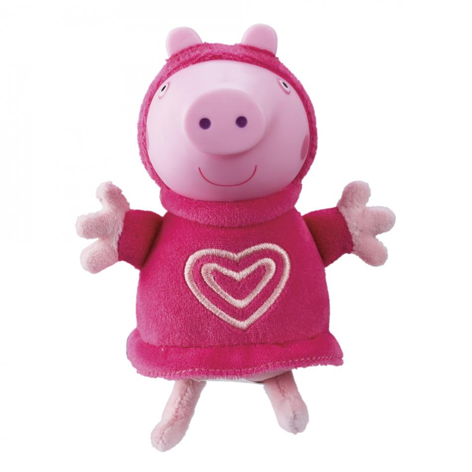 Peluche Peppa Pig con luz Peppa Glow Friends
