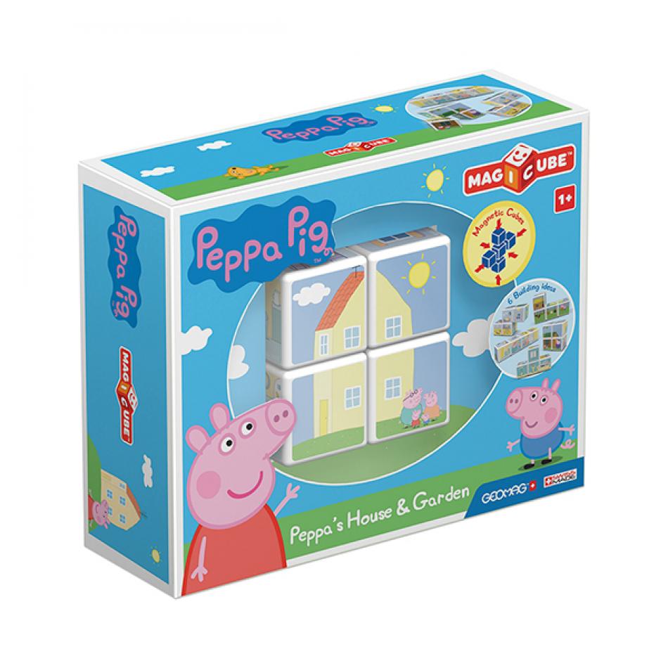 Magicube Peppa Pig House & Garden