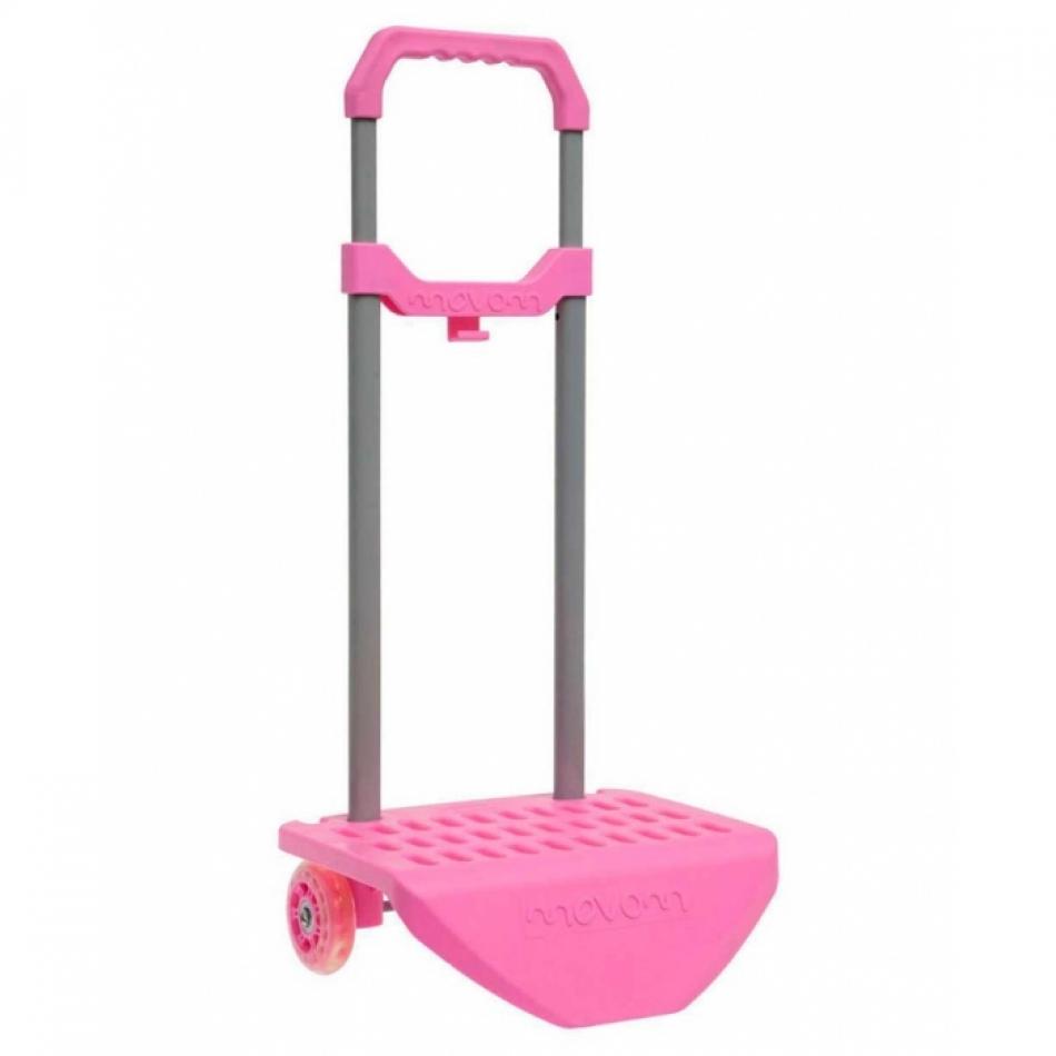 Carro escolar movom color rosa