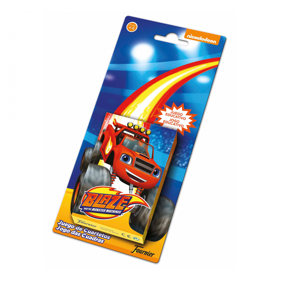 Baraja de naipes en blister de Blaze and the Monster machines
