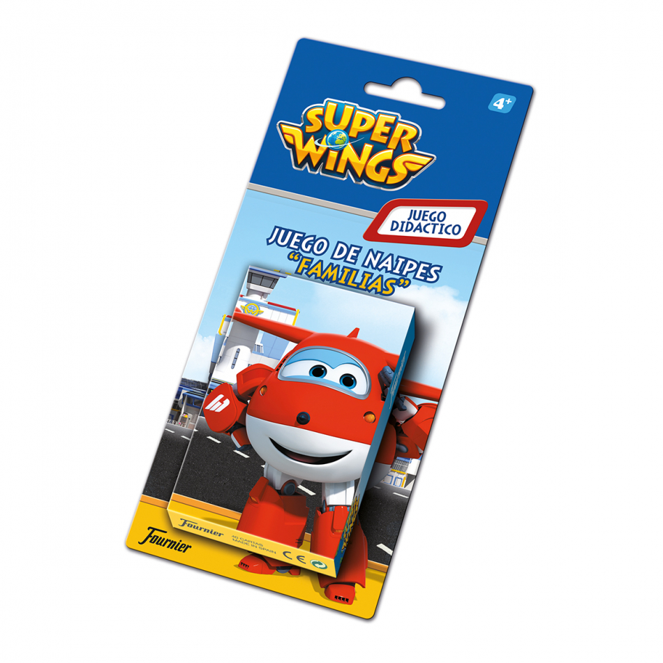 Baraja de naipes en blister de Super Wings