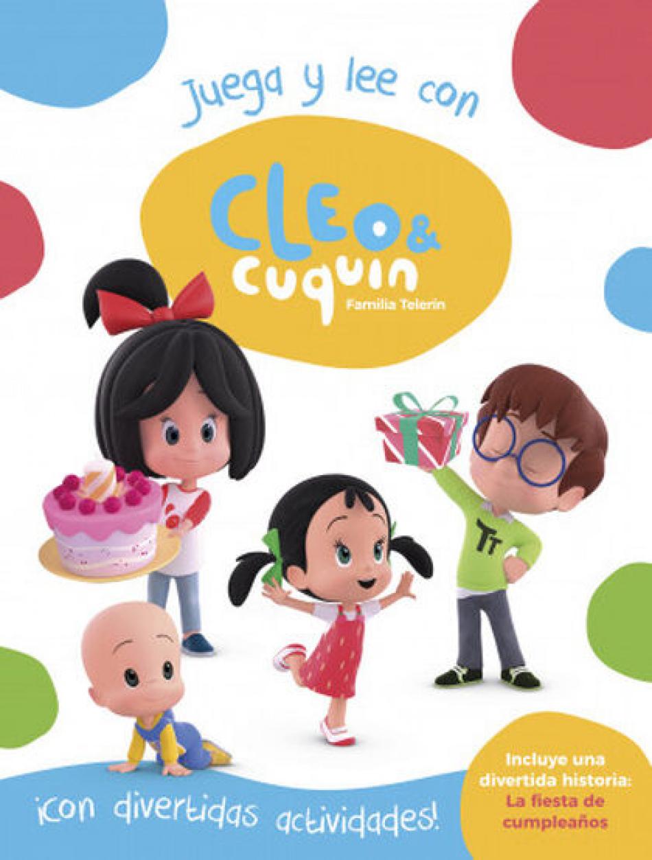 Cleo y Cuquin. Juega y lee con Cleo y Cuquin.