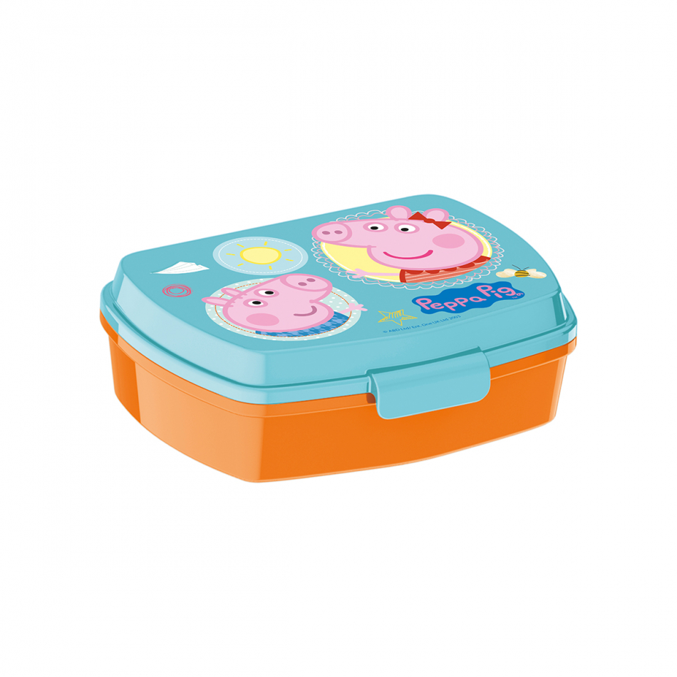 Sandwichera funny Peppa Pig Core