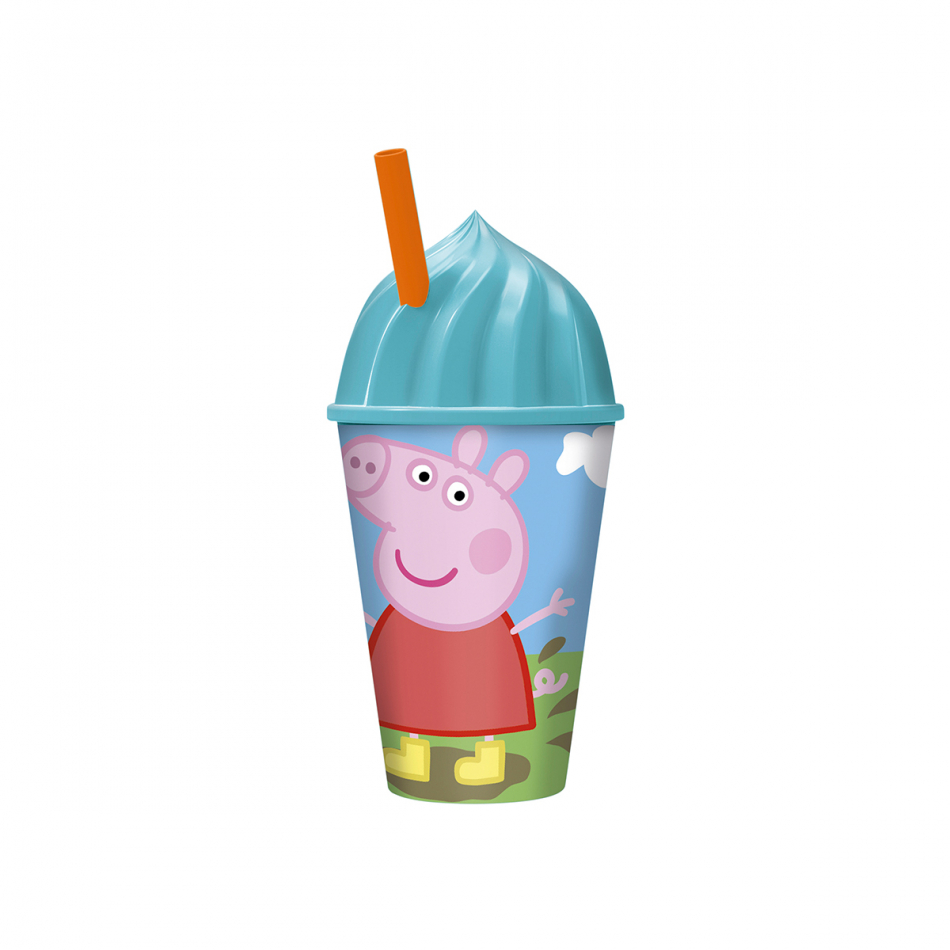 Vaso helado 430ml. Peppa Pig Core
