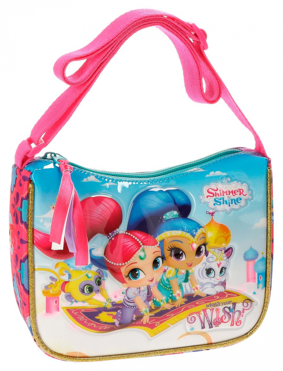 Bandolera rectangular Shimmer y Shine Wish