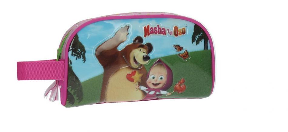Neceser pequeño adaptable Masha y el Oso