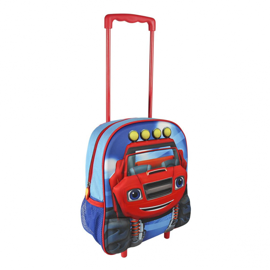 Carro infantil 3D rojo Blaze and the Monster machines