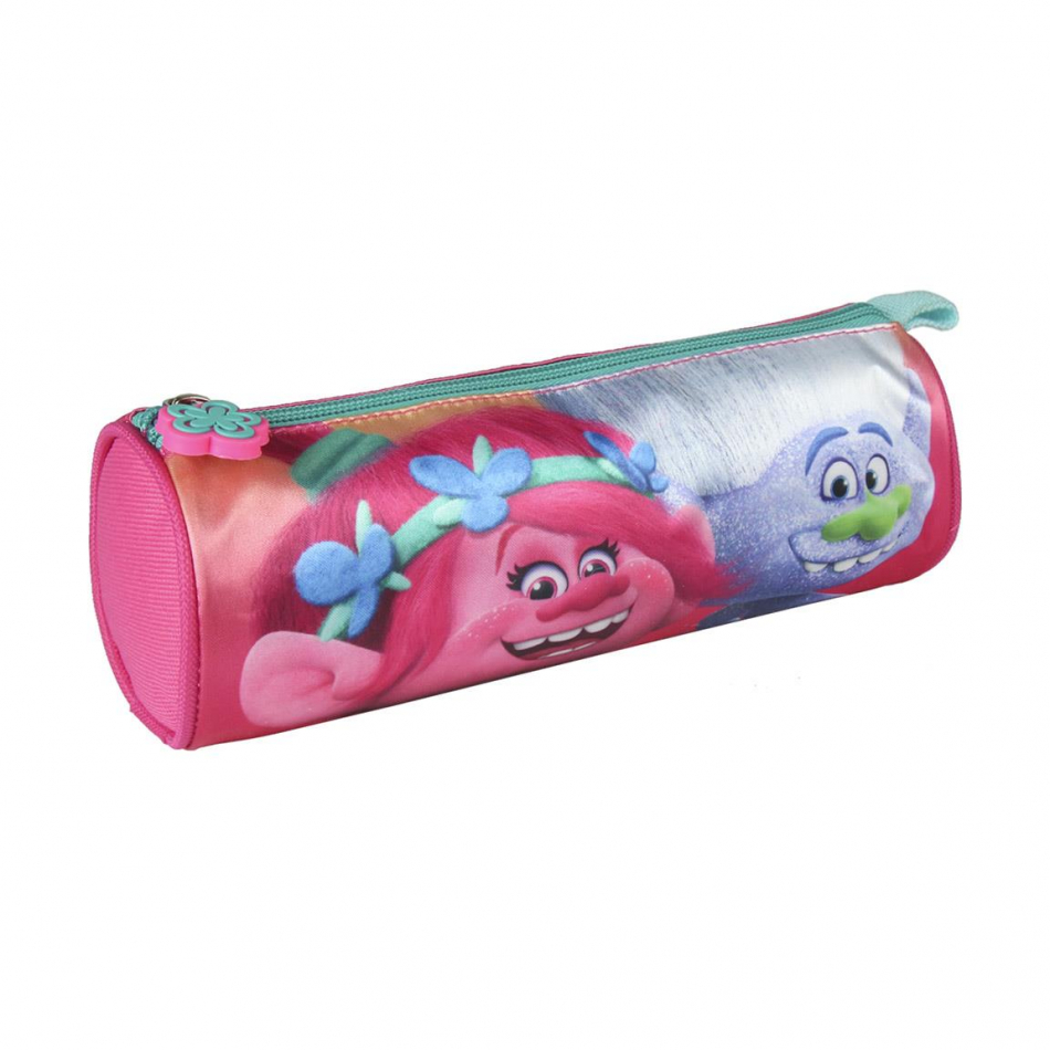 Estuche/porta todo cilíndrico Poppy Trolls