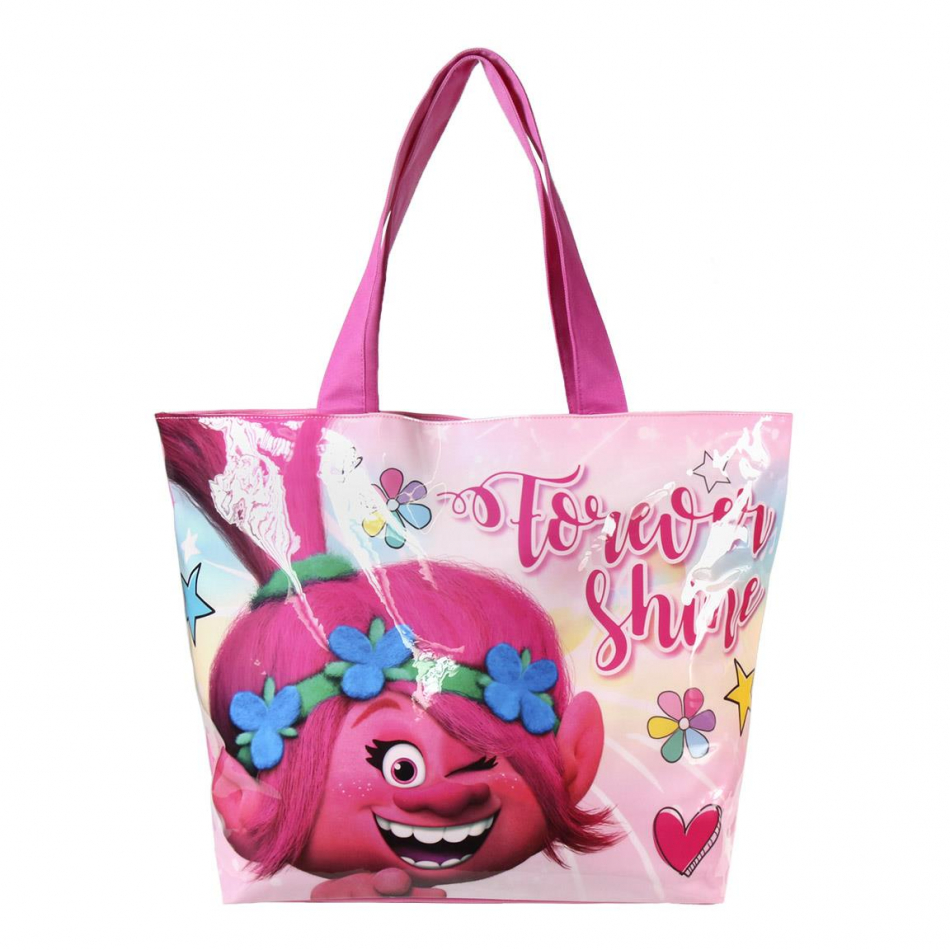 Bolso playa Poppy Trolls