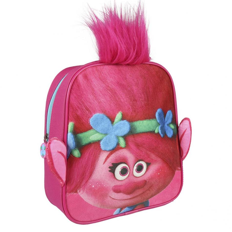 Mochila infantil personaje Trolls Poppy