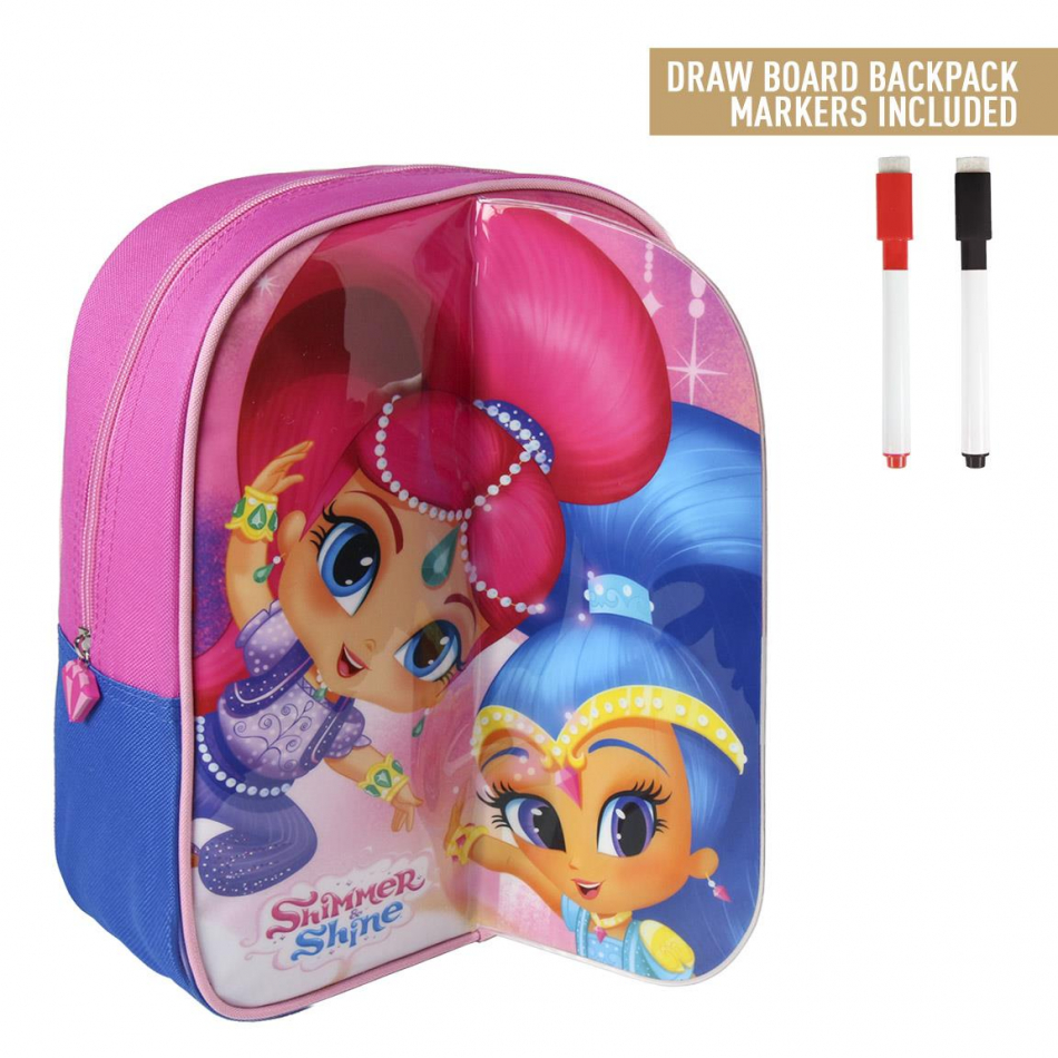 Mochila play back dibujo Shimmer y Shine