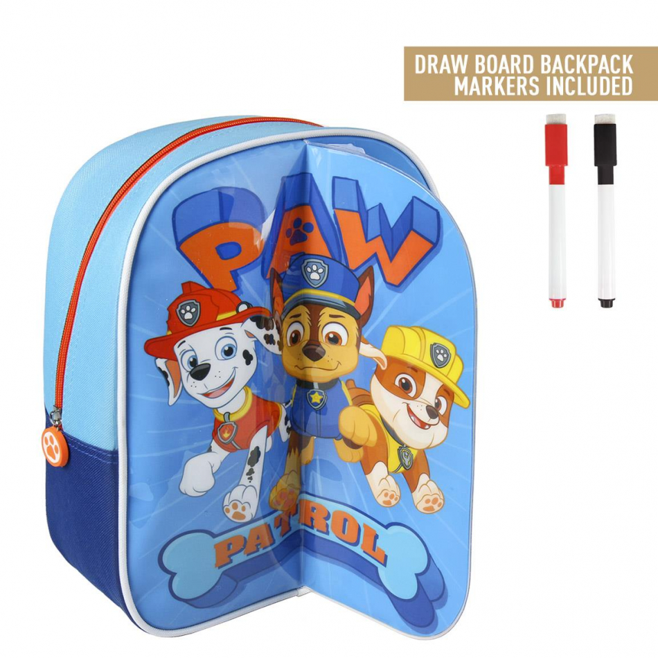 Mochila play back Marshall, Chase y Rubble La Patrulla Canina