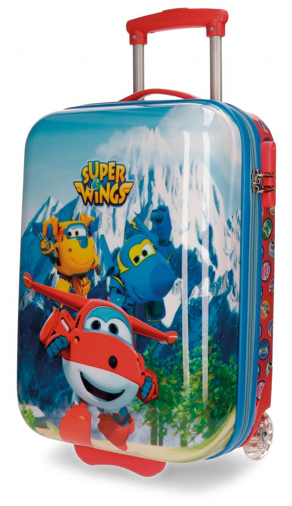 Trolley ABS 50 cm. 2 ruedas Super Wings Mountain