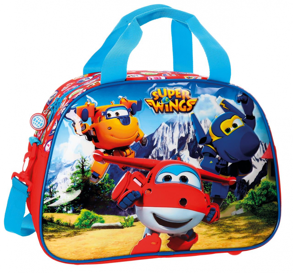 Bolsa de viaje 40 cm. Super Wings Mountain