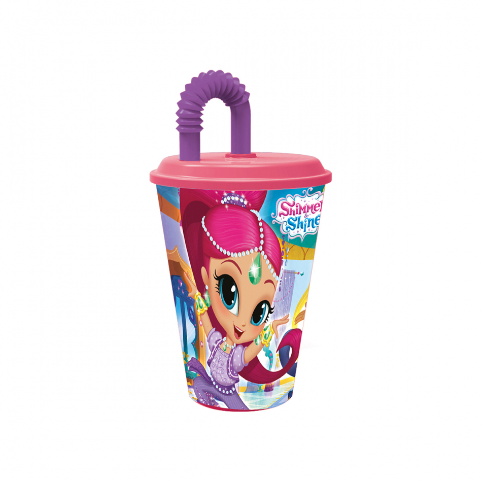 Vaso caña easy 430ml. Shimmer y Shine Palace