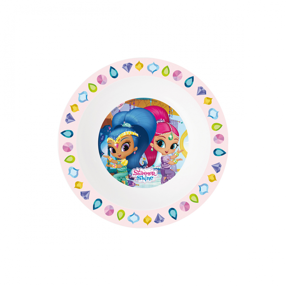 Cuenco micro kids Shimmer y Shine Palace