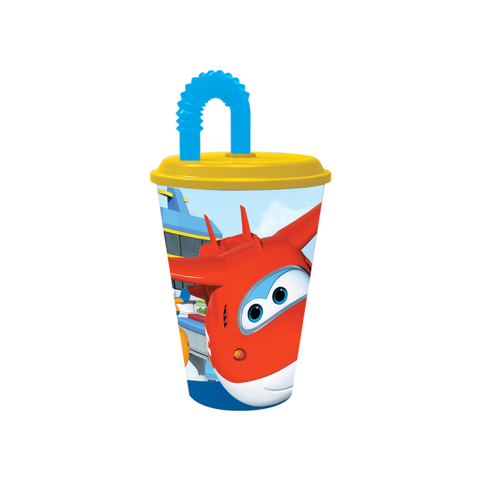 Vaso caña easy 430ml. Super Wings