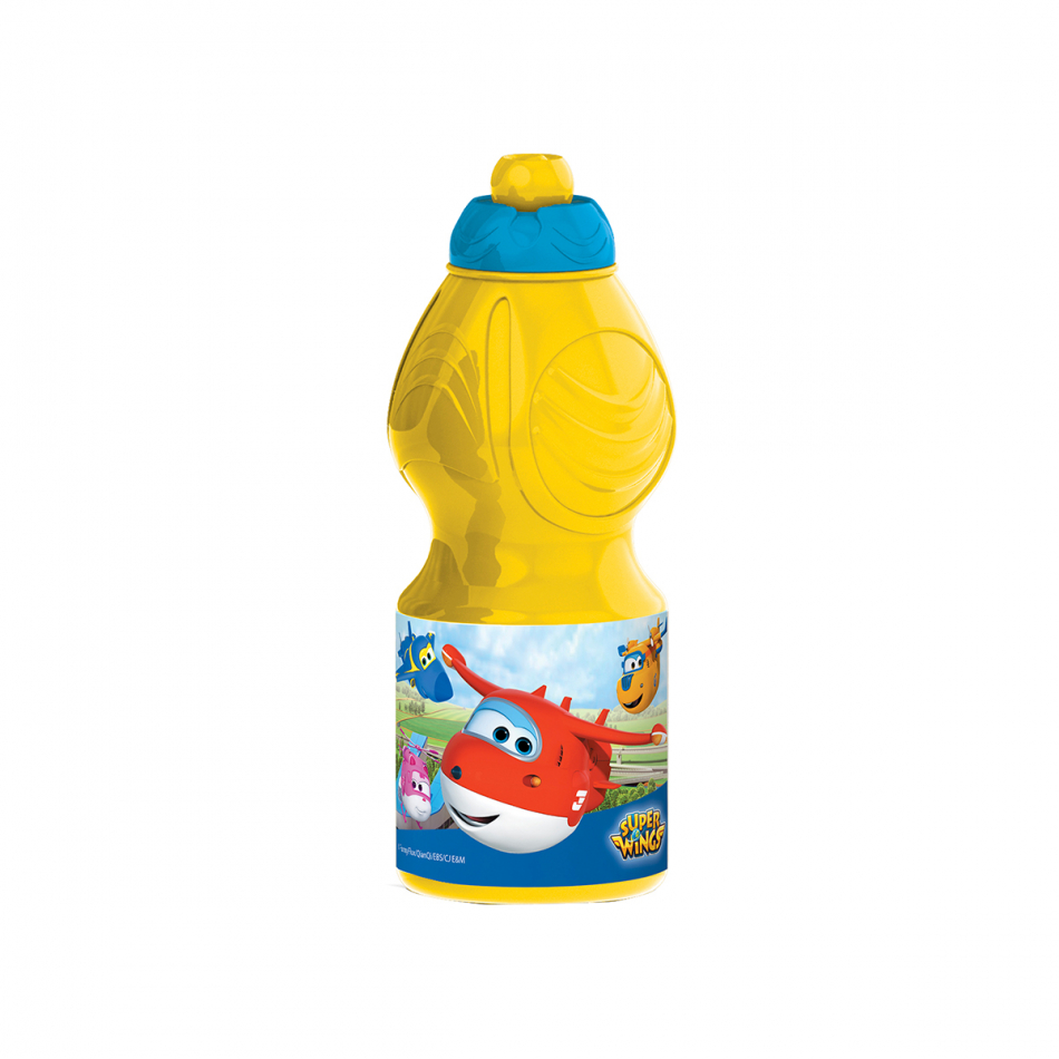 Botella sport 400ml. Super Wings