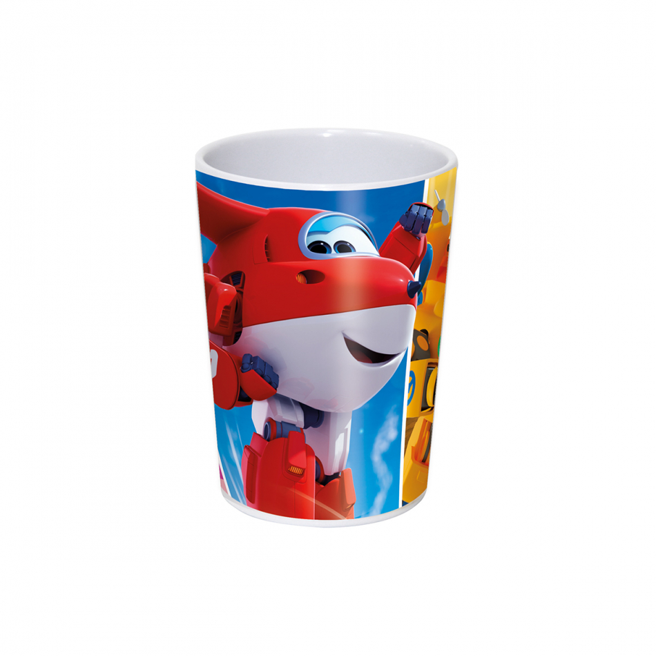 Vaso melanina 200ml. Super Wings