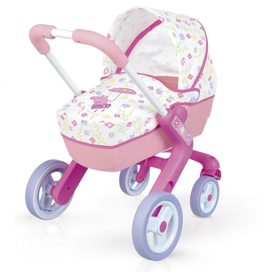 Peppa Pig - Cochecito Pop Pram para muñecos bebé