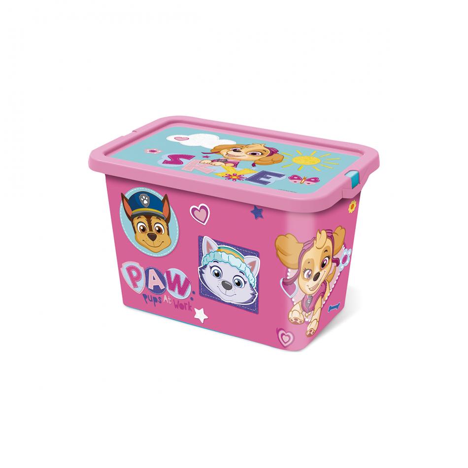 Caja click 7L La Patrulla Canina Girl Pinky