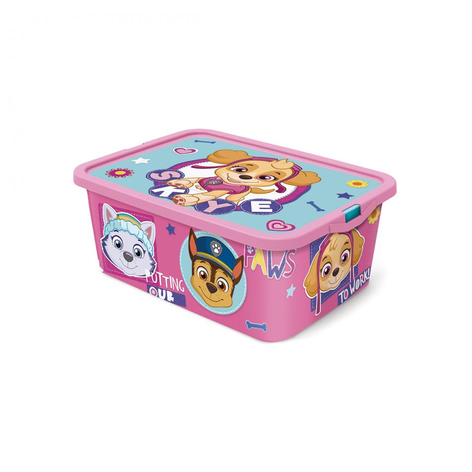 Caja click 13L La Patrulla Canina Girl Pinky