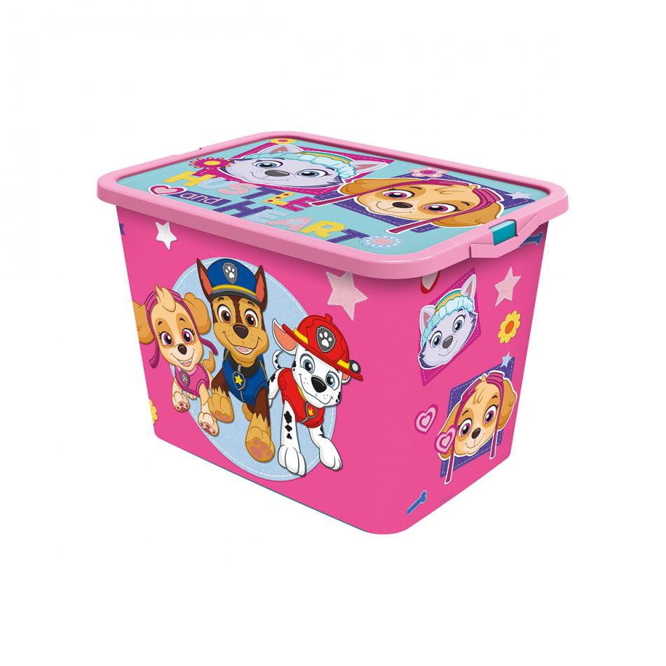 Caja click 23L La Patrulla Canina Girl Pinky
