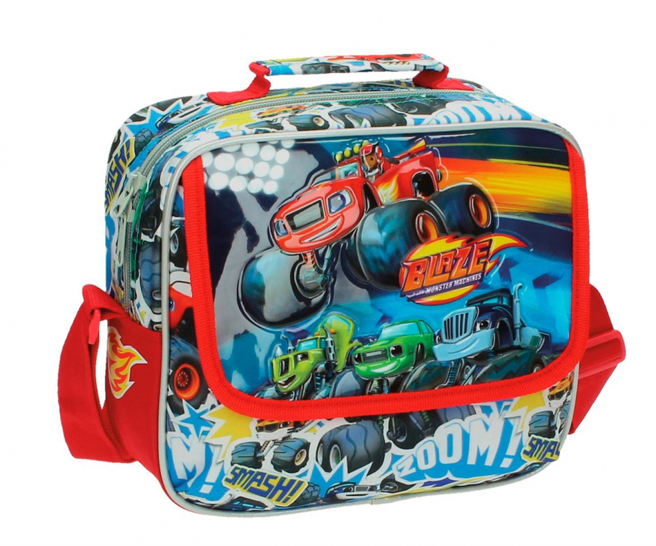Neceser bandolera adaptable Blaze and the Monster machines - Blaze