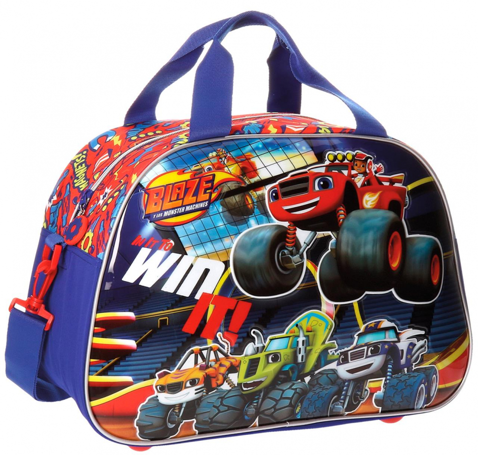 Bolsa de viaje 40 cm. Blaze and the Monster machines - Group