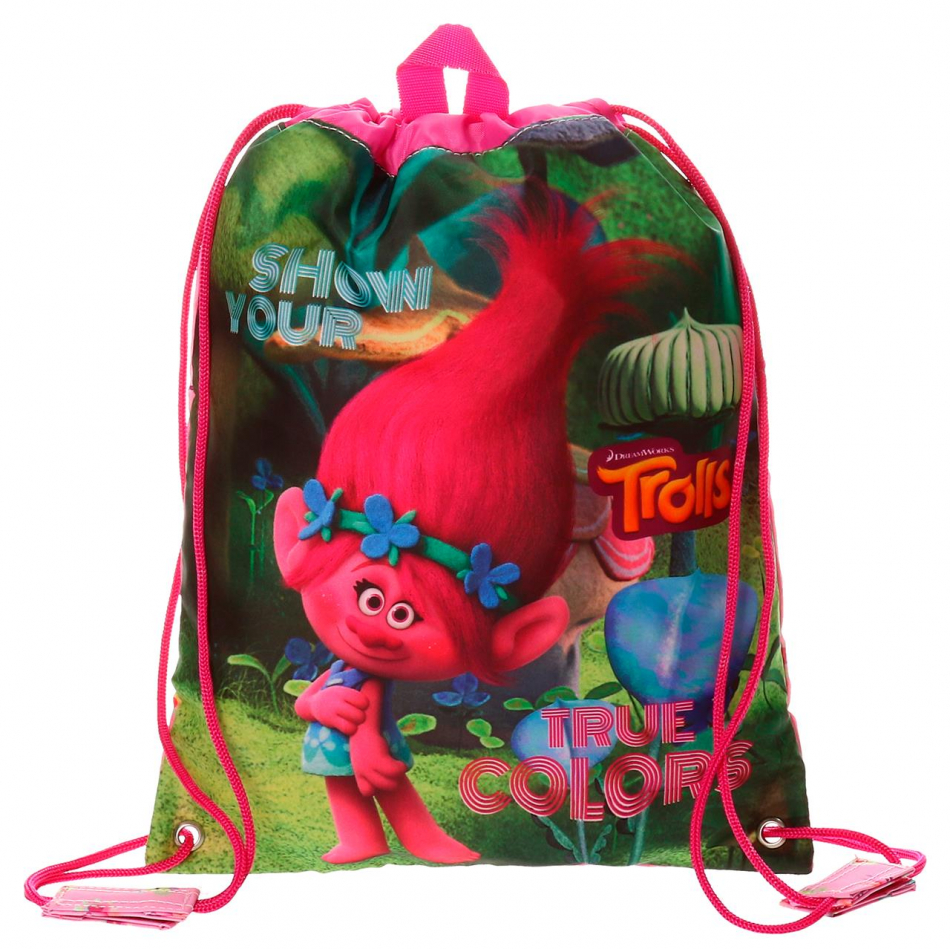 Bolsa de merienda Trolls True colors