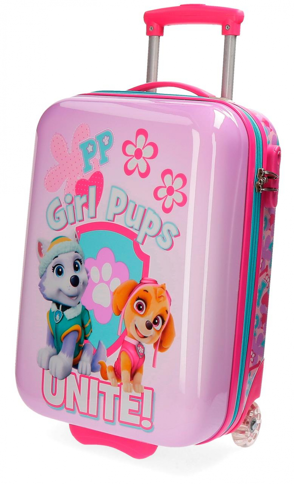 Trolley ABS 50 cm. 2 ruedas La Patrulla Canina Girls pups
