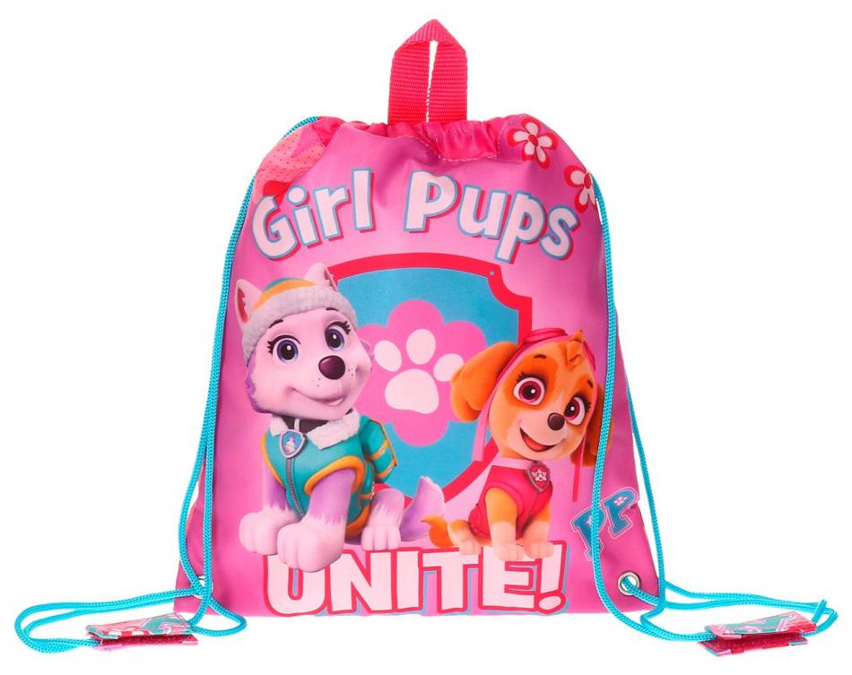 Bolsa de merienda pequeña La Patrulla Canina Girls pups