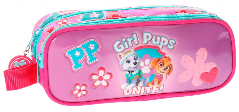 Neceser 2 cremalleras La Patrulla Canina Girls pups