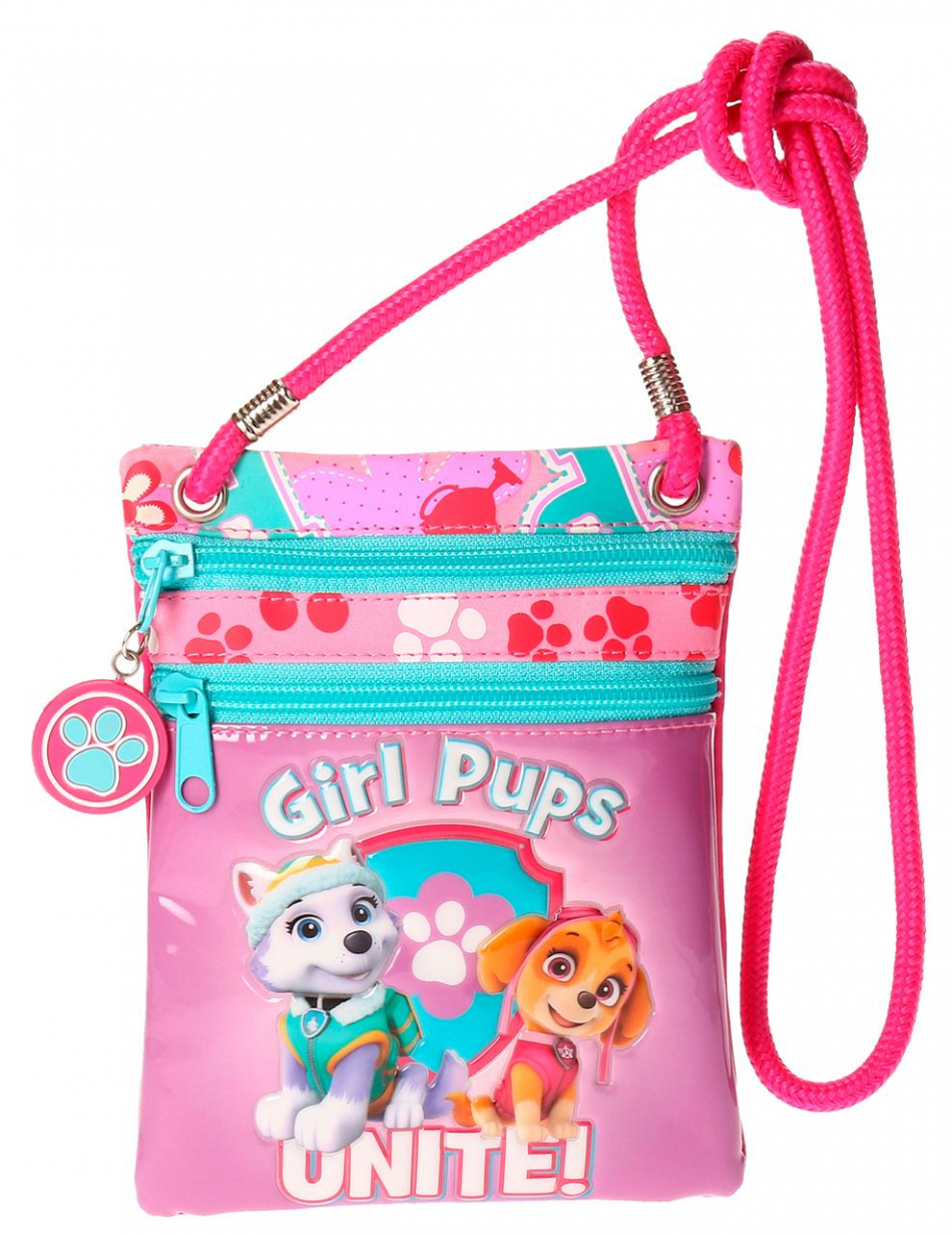 Bandolera rectangular La Patrulla Canina Girls pups