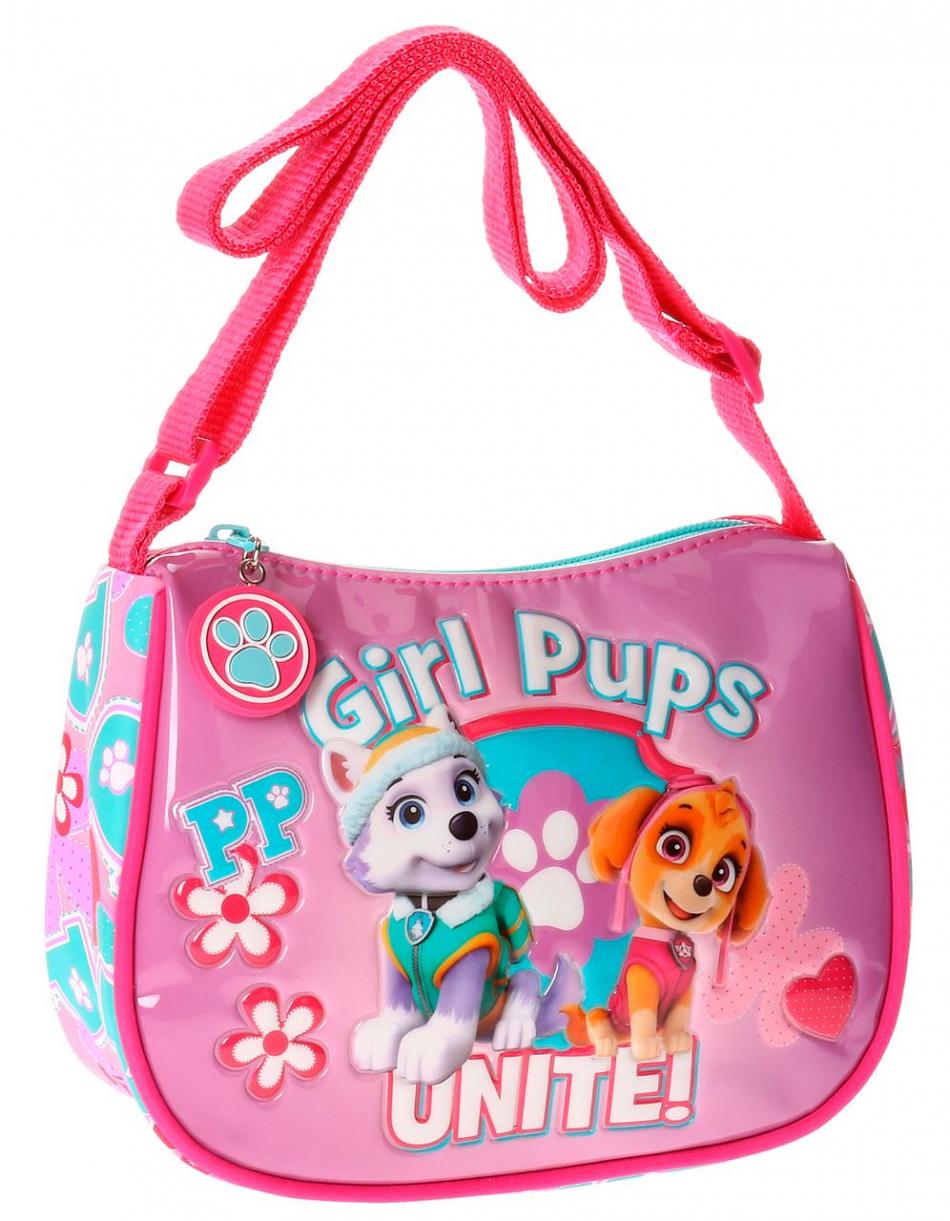 Bandolera cuadrada La Patrulla Canina Girls pups