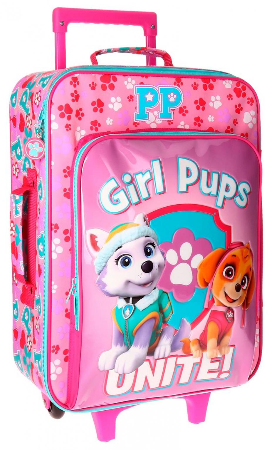 Trolley 50 cm. 2 ruedas La Patrulla Canina Girls pups