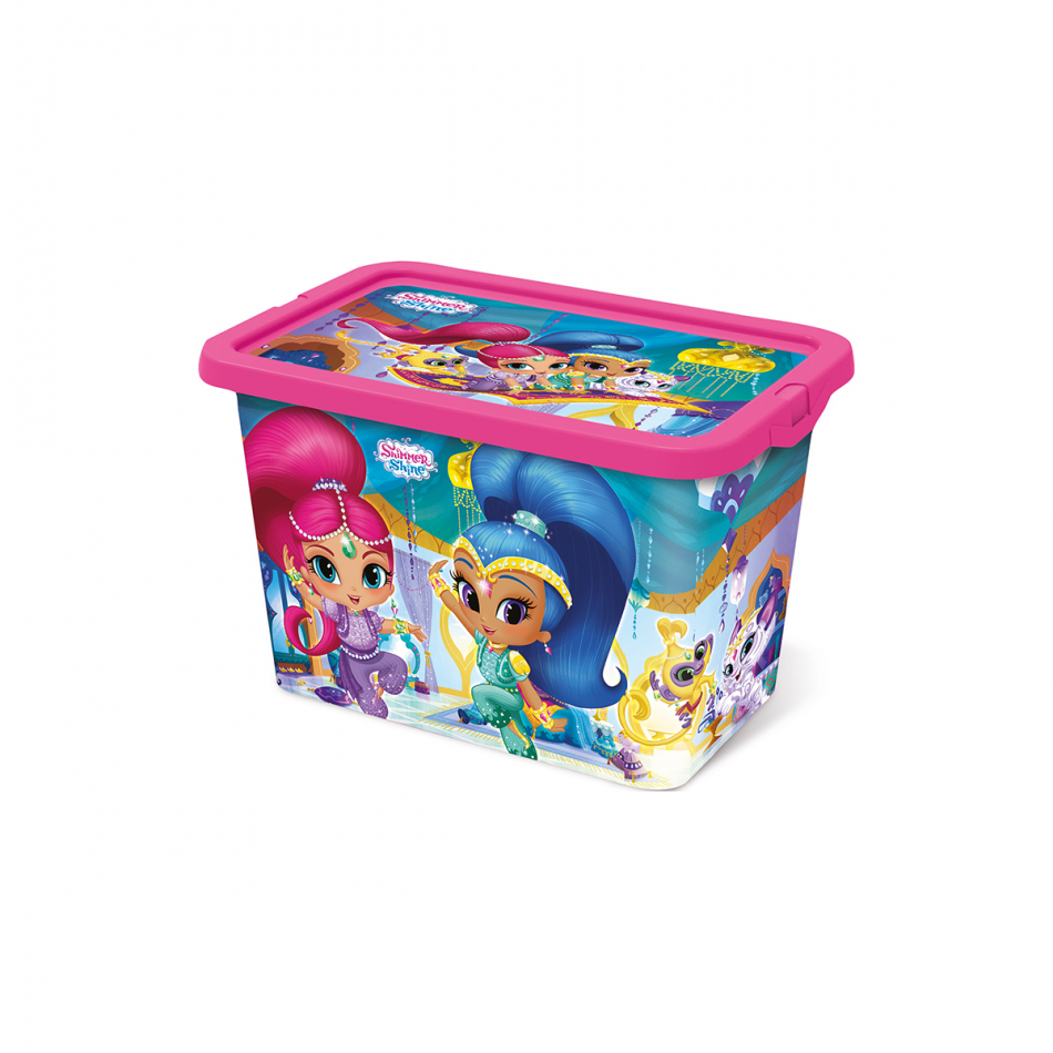 Caja click 7L Shimmer y Shine Magic carpet