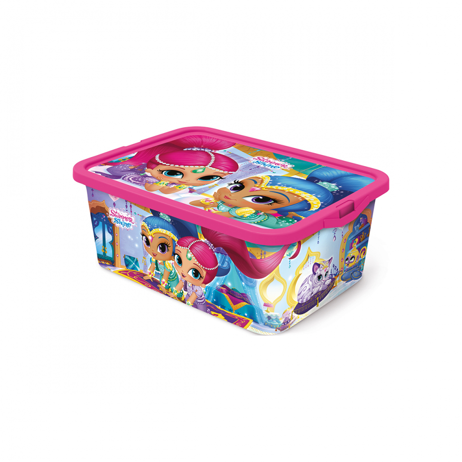 Caja click 13L Shimmer y Shine Magic carpet