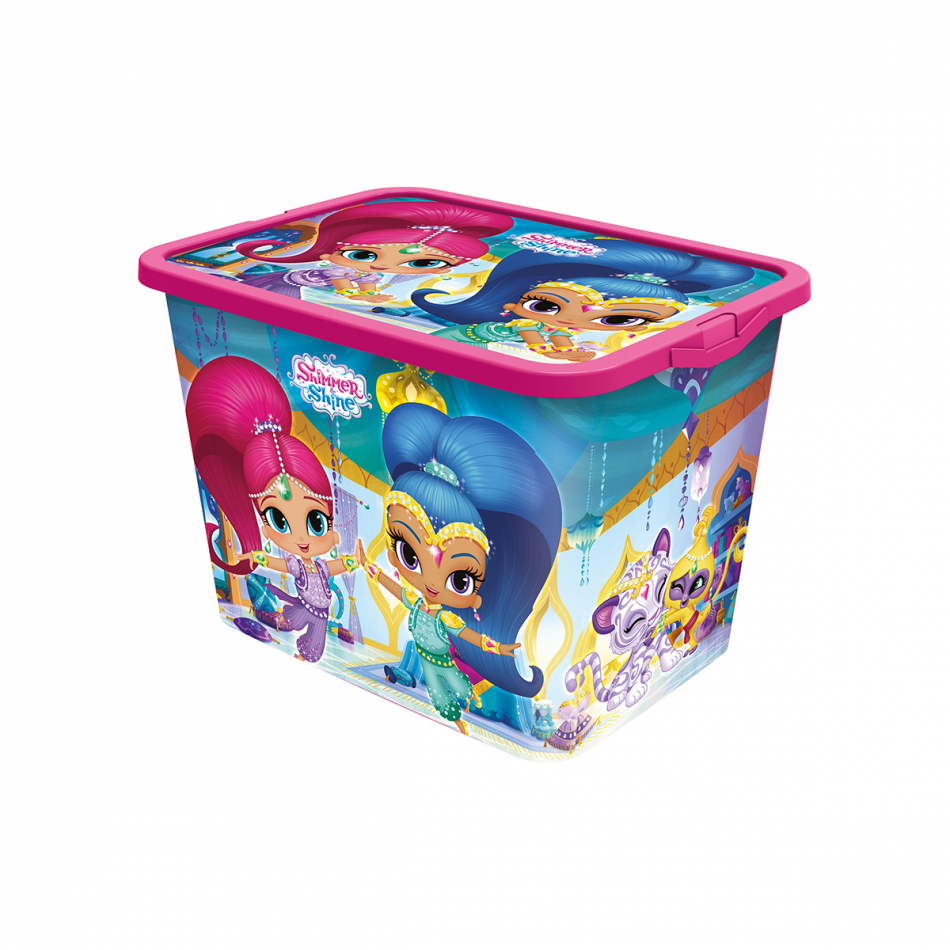 Caja click 23L Shimmer y Shine Magic carpet