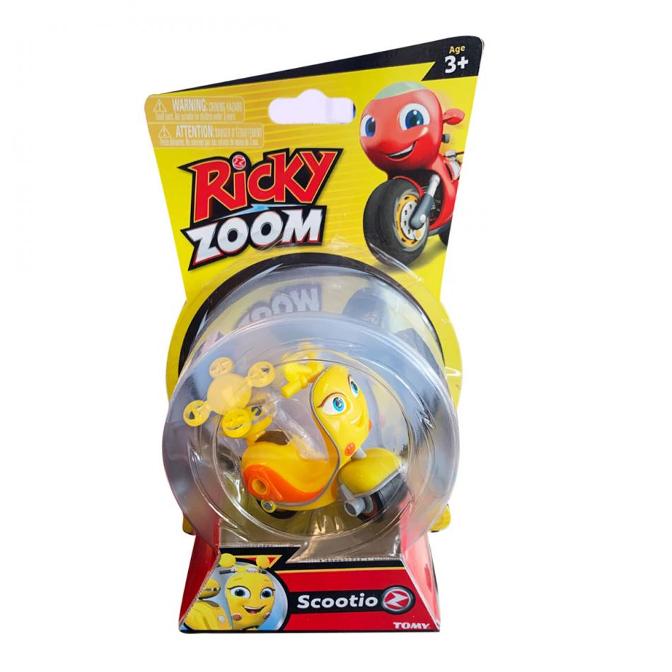 Ricky Zoom Personajes Basic - Scootio