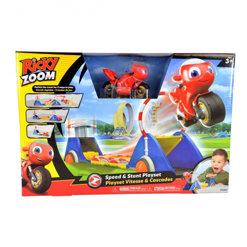 Ricky Zoom Playset Acrobacias