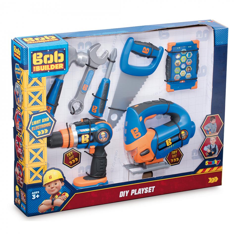 Bob el Constructor- Set de 7 herramientas con luz y sonido