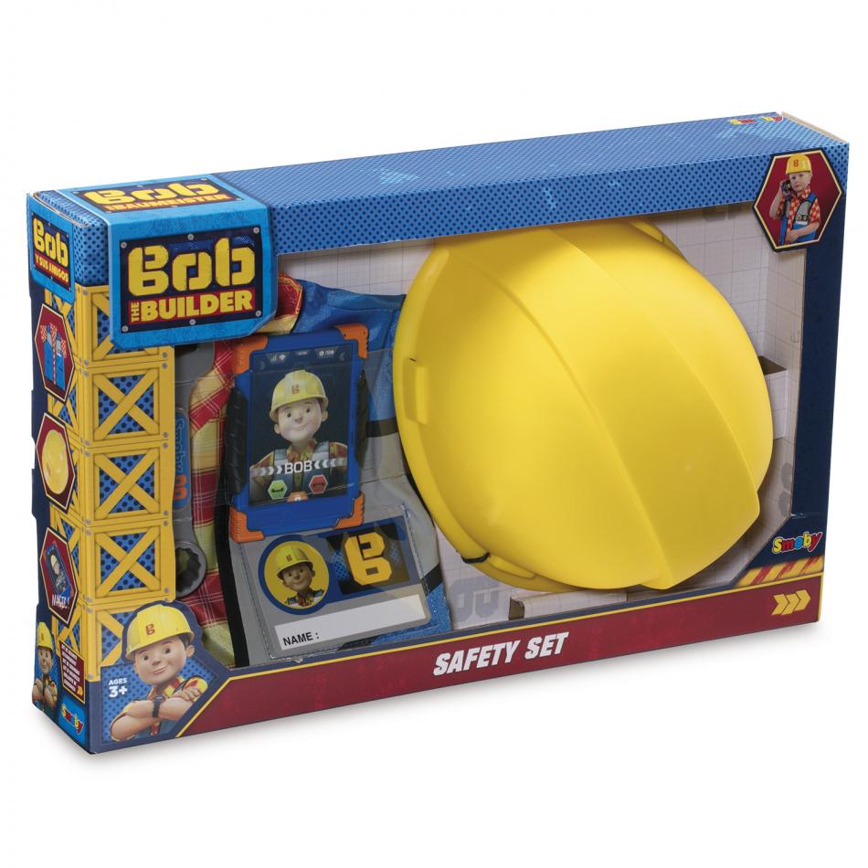 Bob el Constructor - Set de seguridad con chaleco y casco