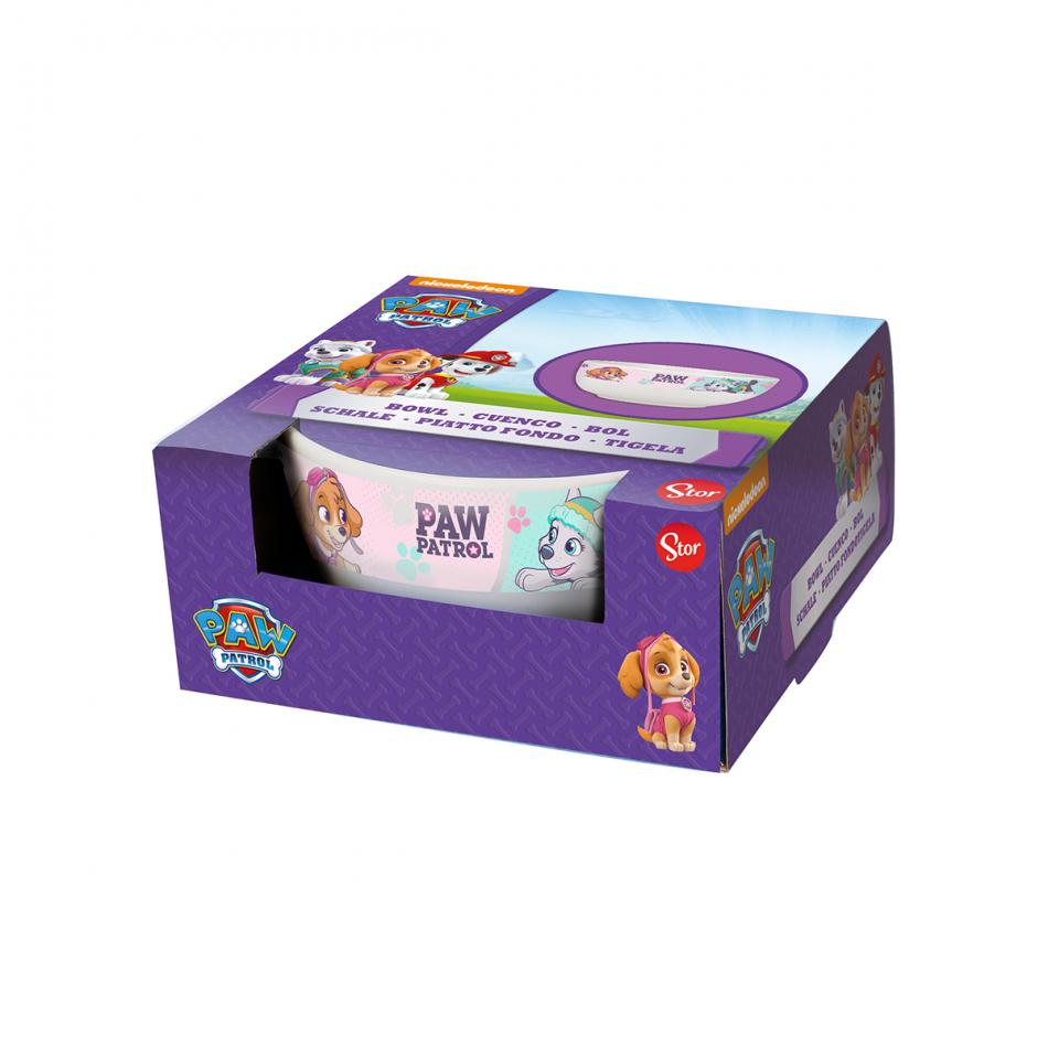 Cuenco cerámica 19 oz en la caja regalo La Patrulla Canina chica