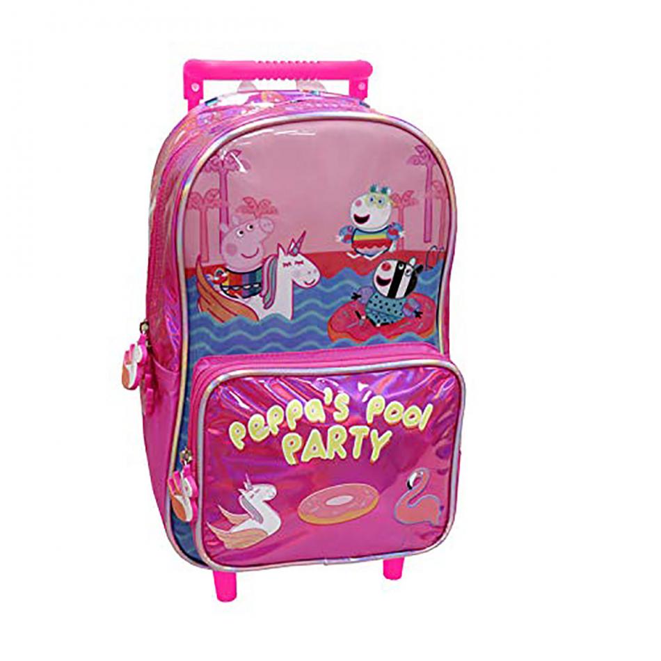 Mochila Trolley 33 cm Peppa Pig