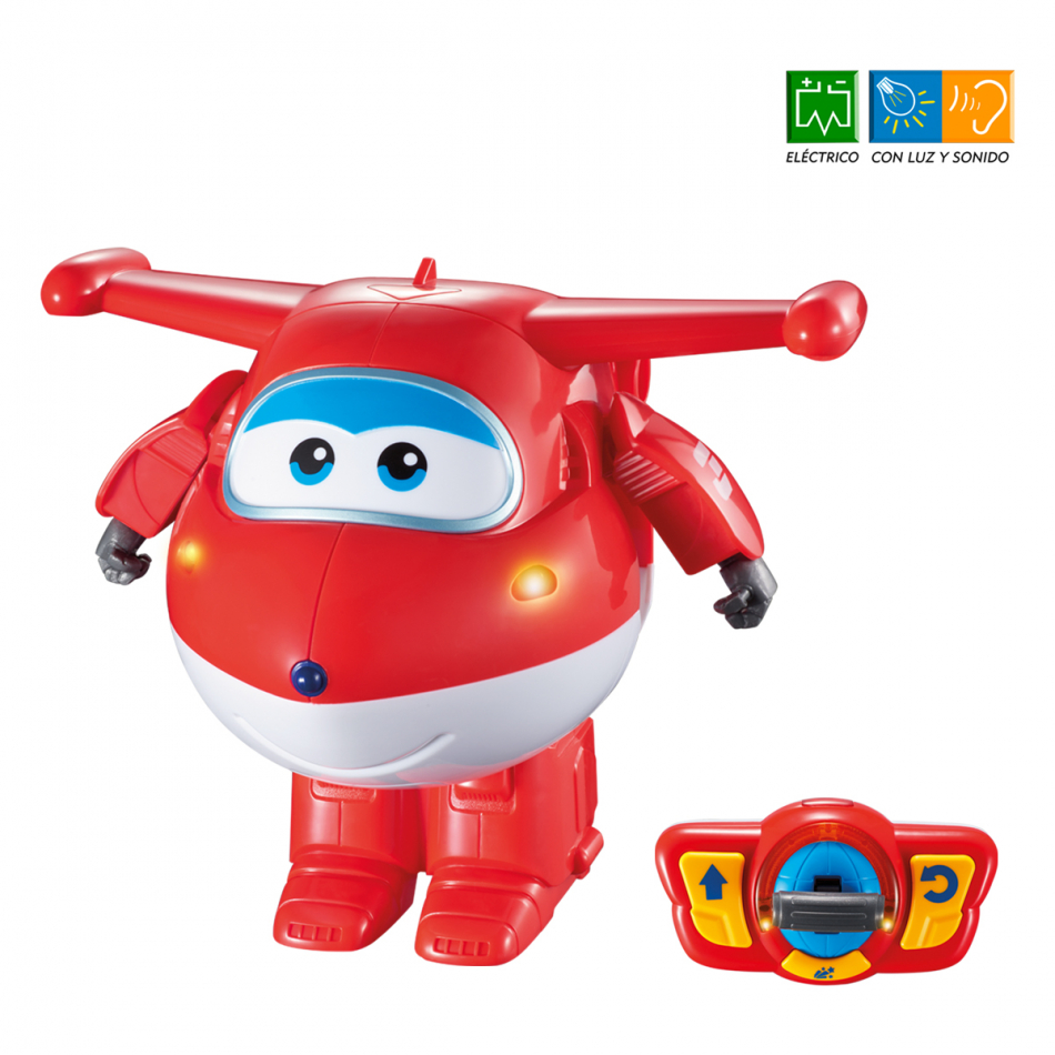 Jett Transformable Radio Control Super Wings Jett