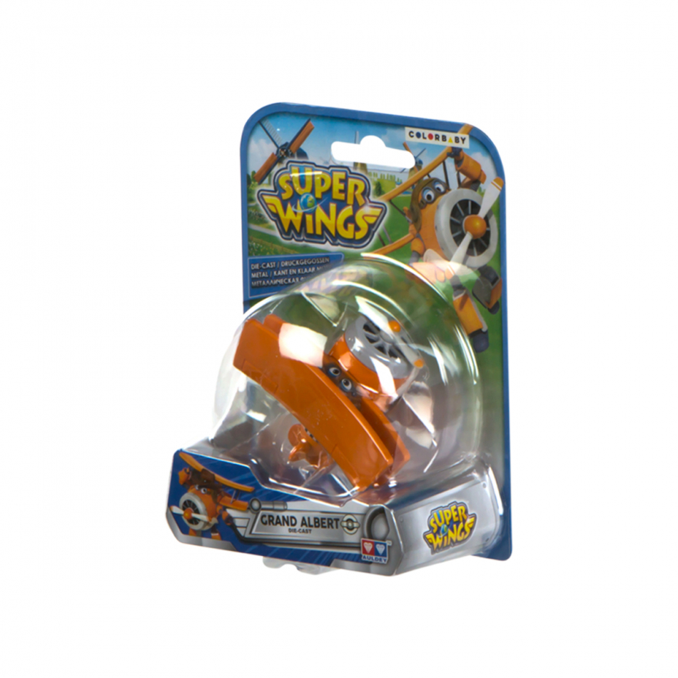 Figura die cast Super Wings Grand Albert