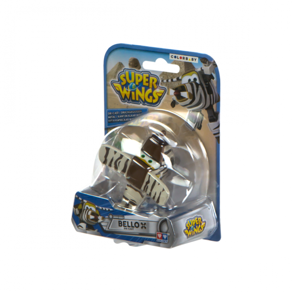 Figura die cast Super Wings Bello