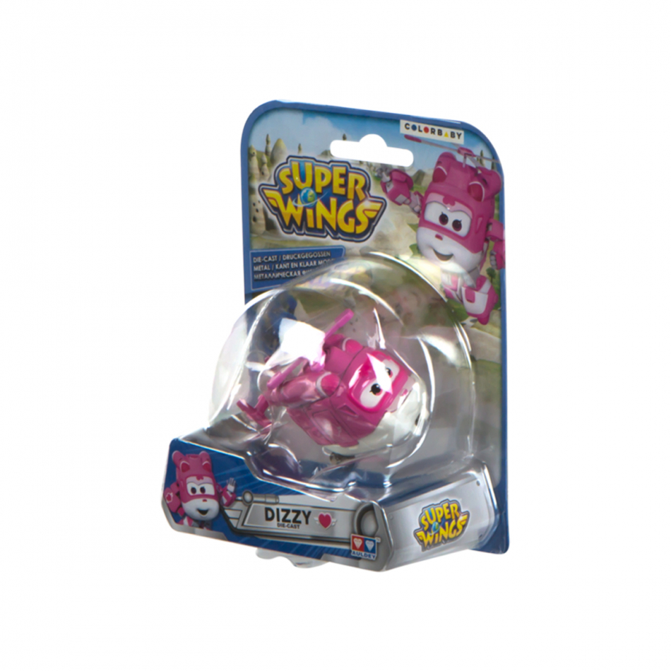 Figura die cast Super Wings Dizzy